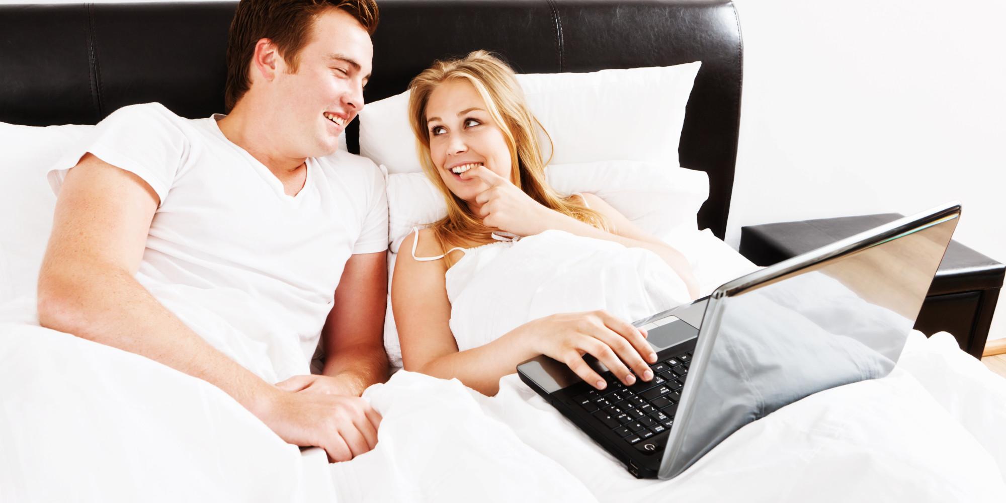 couple watching couple