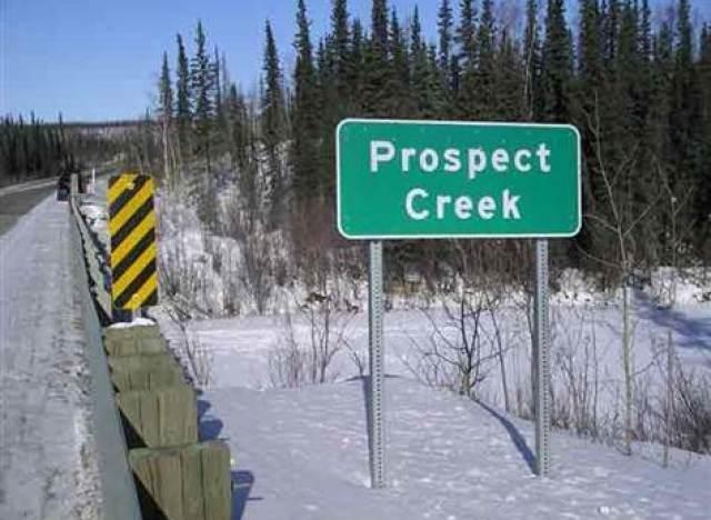 prospect creek alaska