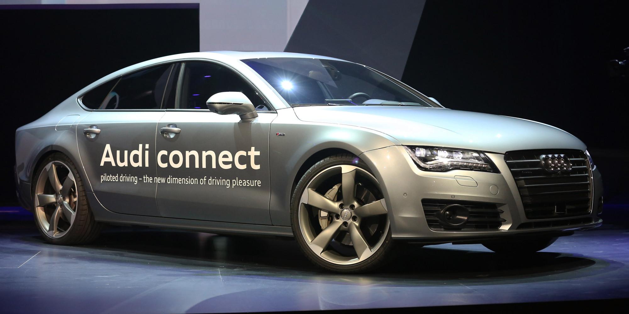 audi unveils self driving concept car 39 a7 autonomous 39. Black Bedroom Furniture Sets. Home Design Ideas
