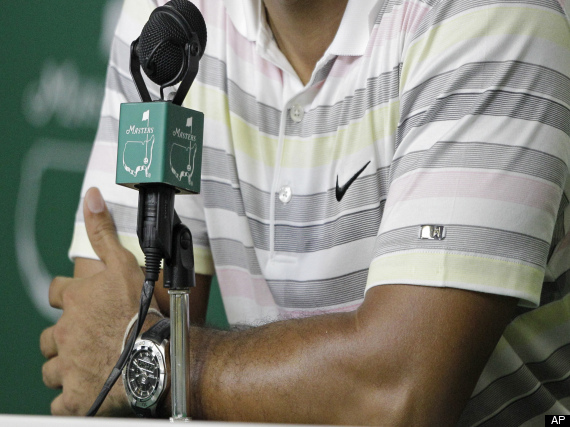 Tiger Woods Masters Press Conference