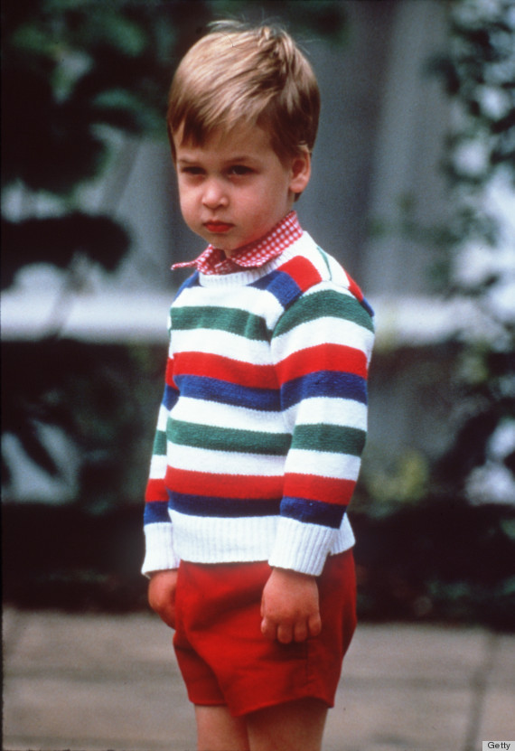 Prince william s first day at cambridge isn t quite as cute as his