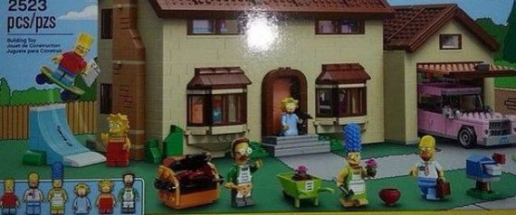 SIMPSONS LEGOS