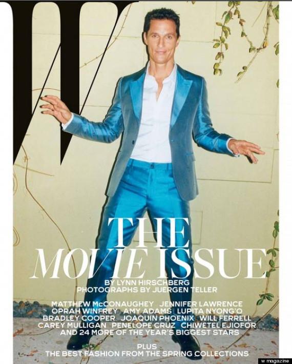 w magazine movie issue