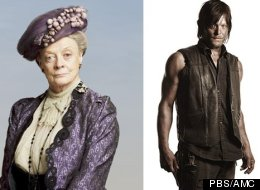 'Downton Abbey' And 'The Walking Dead': The Same Show?