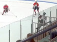 Hockey Player Goes For Cheap Shot, Fails Miserably (VIDEO)
