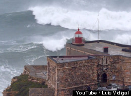 WATCH: Massive 23 Meter Waves Hit The Coast Of Portugal