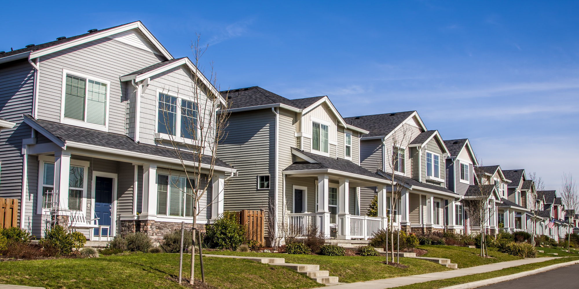 Carbon emissions in the suburbs dwarf those in cities for America best homes