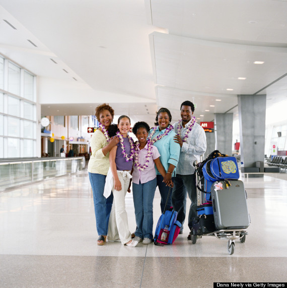 family bags airport