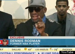 WATCH: Rodman Blasts U.S. Missionary During Outburst