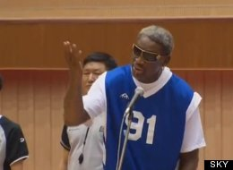 WATCH: Rodman Sings 'Happy Birthday' To Kim Jong Un