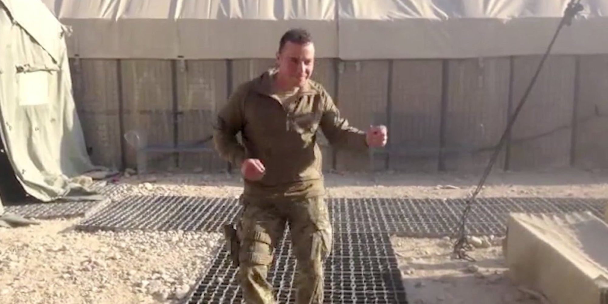 This Video Of British Soldiers In Afghanistan Dancing To