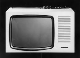 black and white tv uk