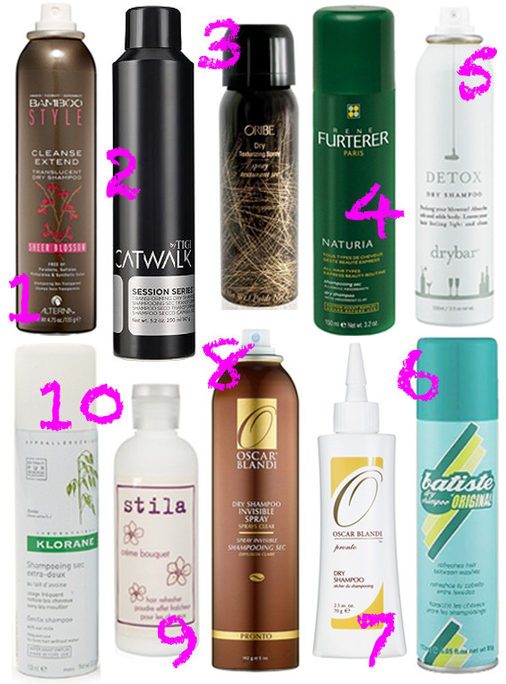 Best Dry Shampoos The Top 10 Products To Hide Your Greasy
