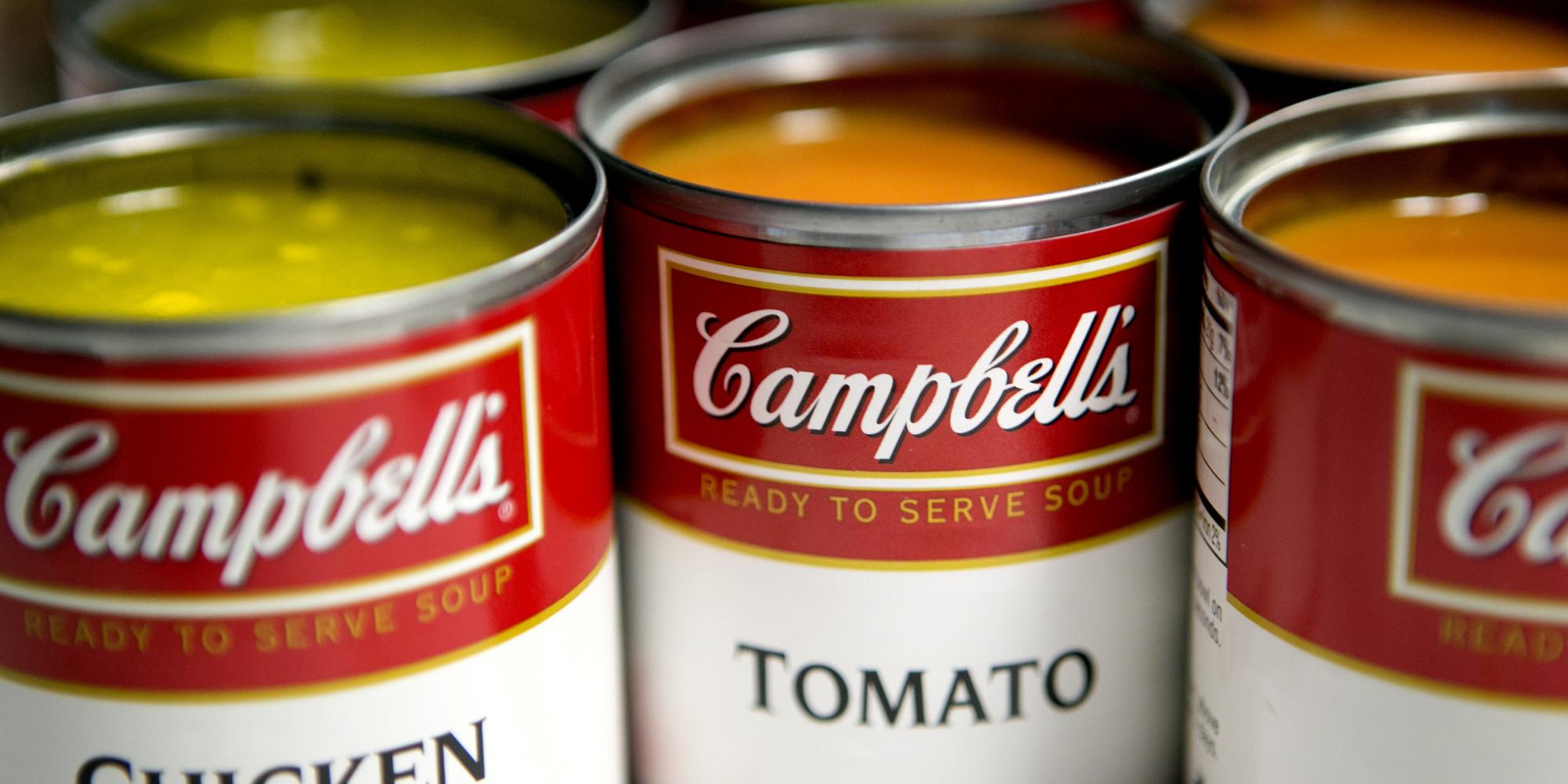 Resulta ng larawan para sa canned soup