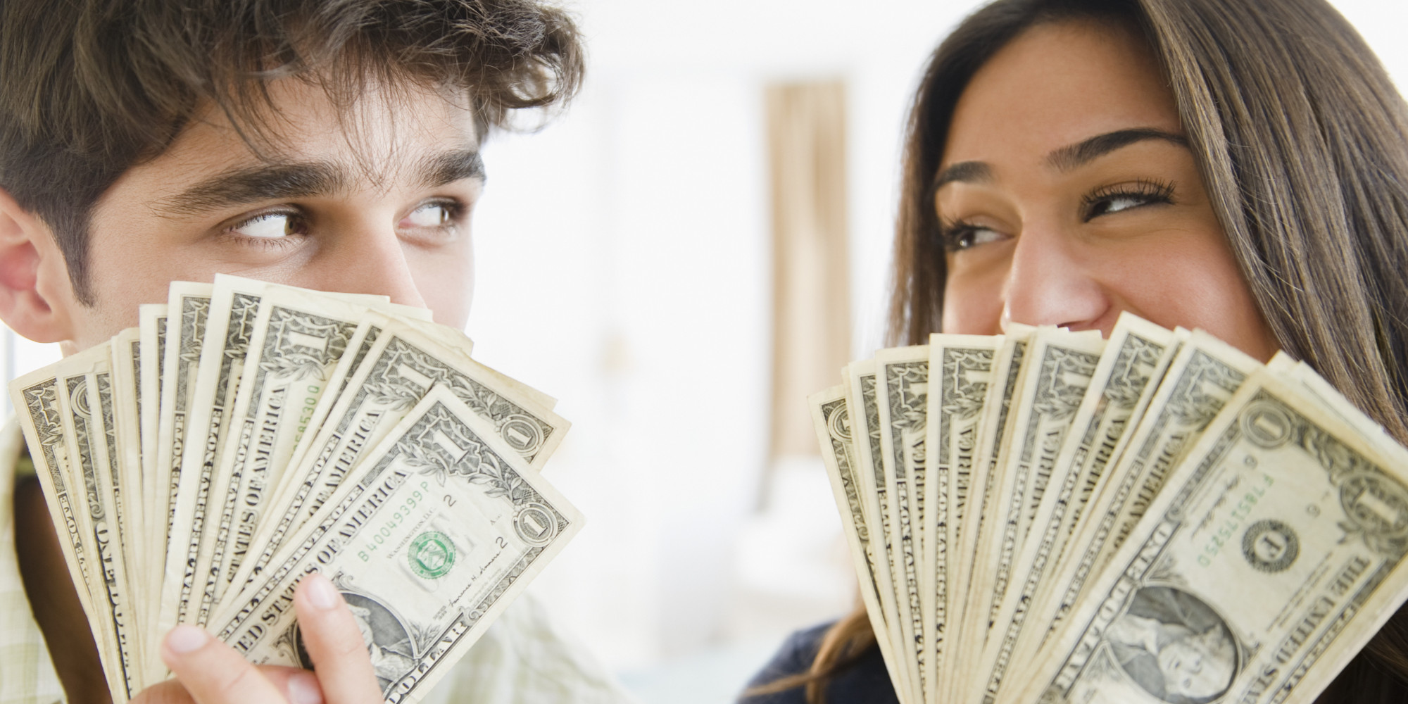 how to ask a man for money