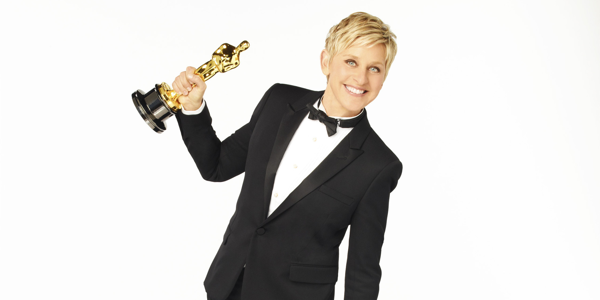 Ellen degeneres tweets adorable oscar promos huffpost for How is ellen degeneres