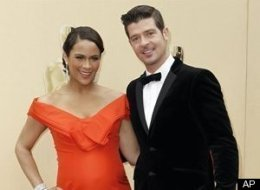 Robin Thicke Paula Patton Baby