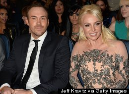 Britney Spears Brings Her Boyfriend To The People's Choice Awards