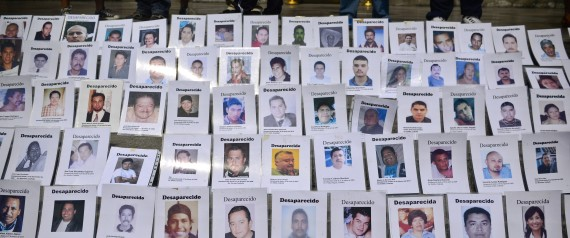 MEXICO DRUG WAR DISAPPEARANCE