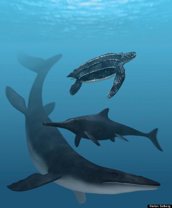dark sea creatures