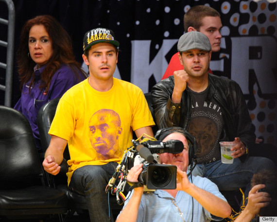 zac efron lakers