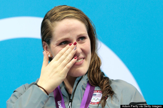tears olympic medal