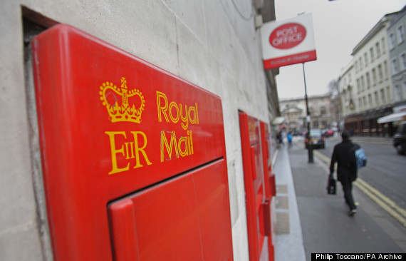 royal mail post office