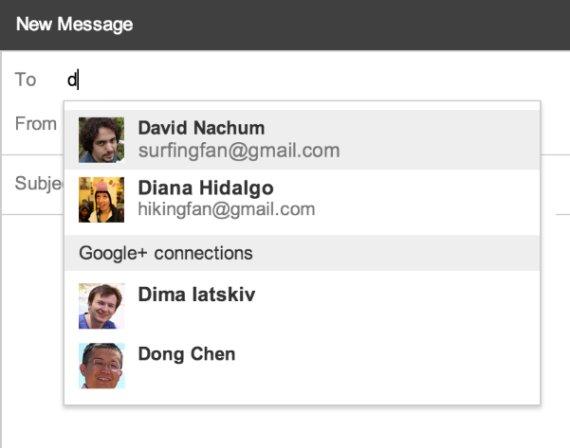nouveaute gmail