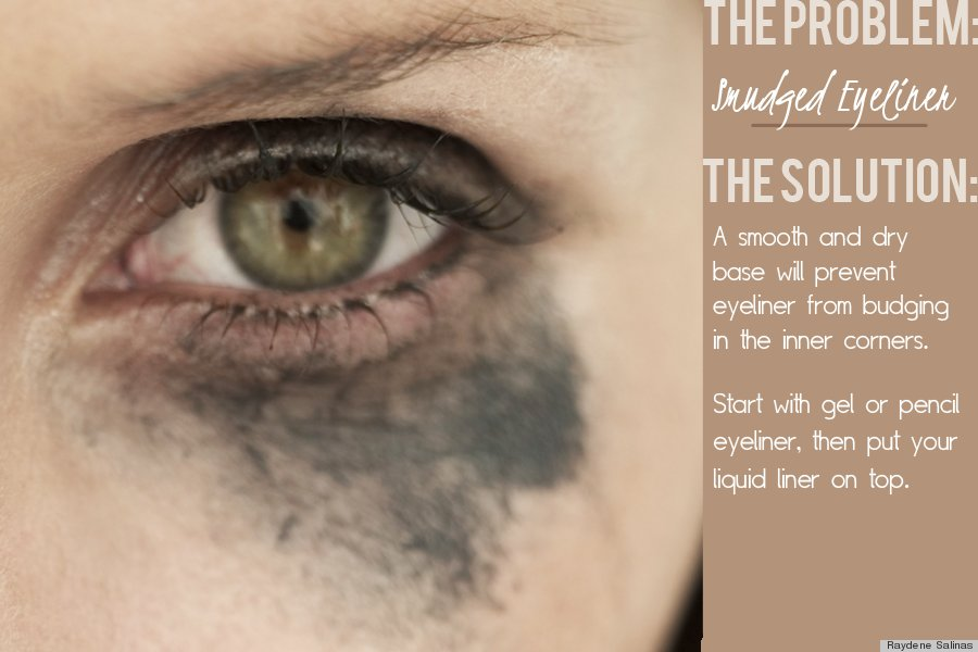 How To Prevent Mascara That Runs, Eyeliner That Smudges And ...