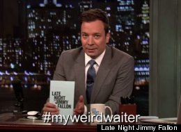 WATCH: Jimmy Fallon Reads Hilarious Tweets About Weird Waiters