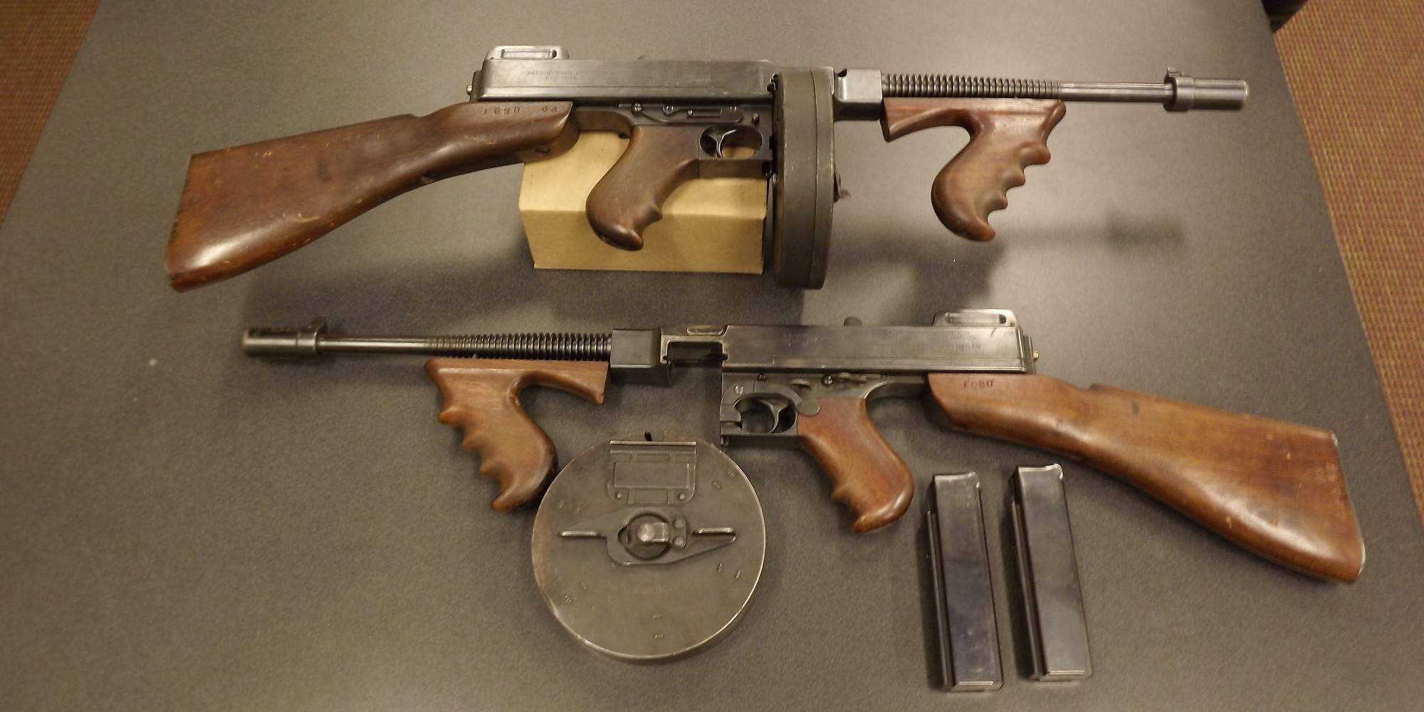 ... Schatzman Swaps Capone-Era Tommy Guns For AR-15s   The Huffington Post