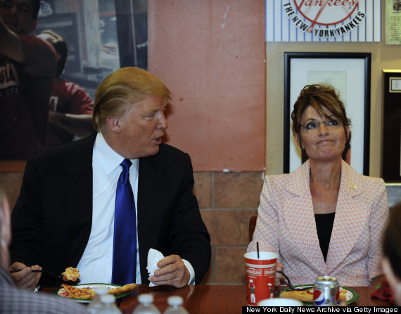 trump palin pizza