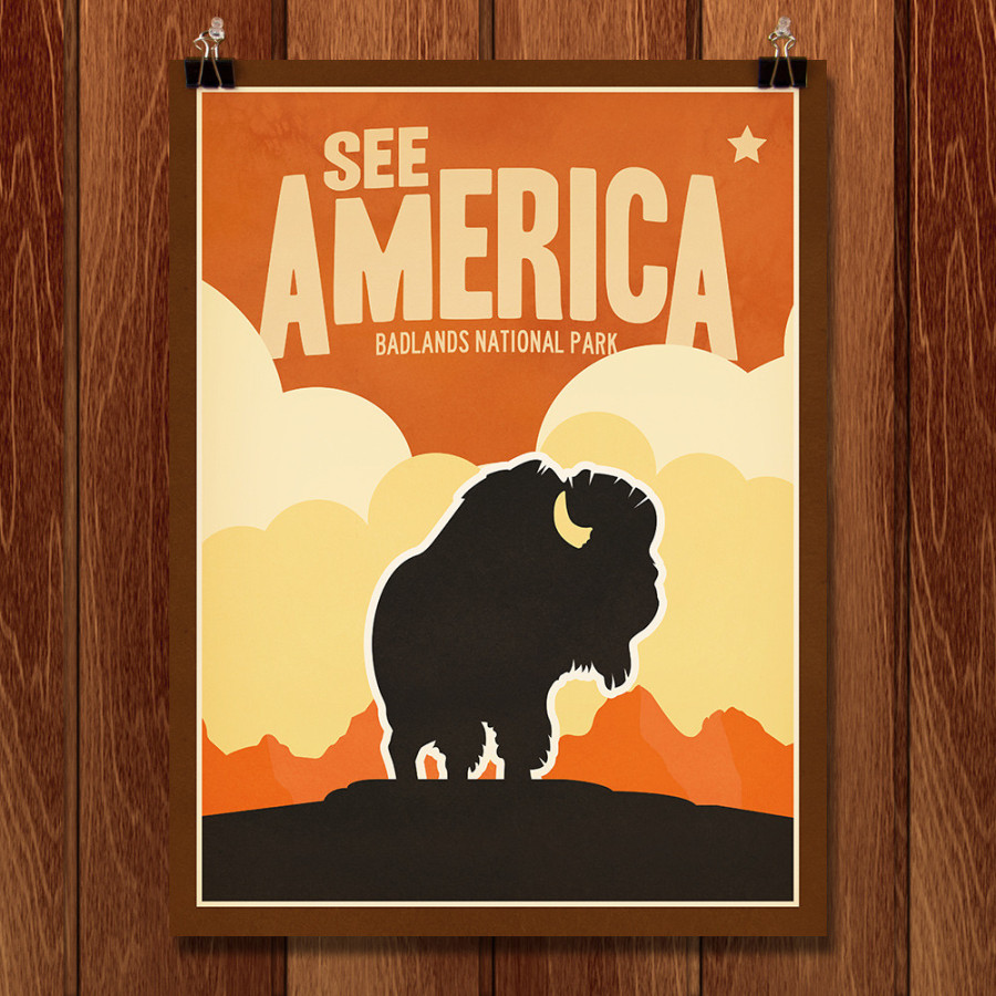 Original National Park Posters: Crowdsourced Artwork Reimagines Vintage Posters Devoted To