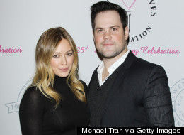 Hilary Duff, Mike Comrie Split