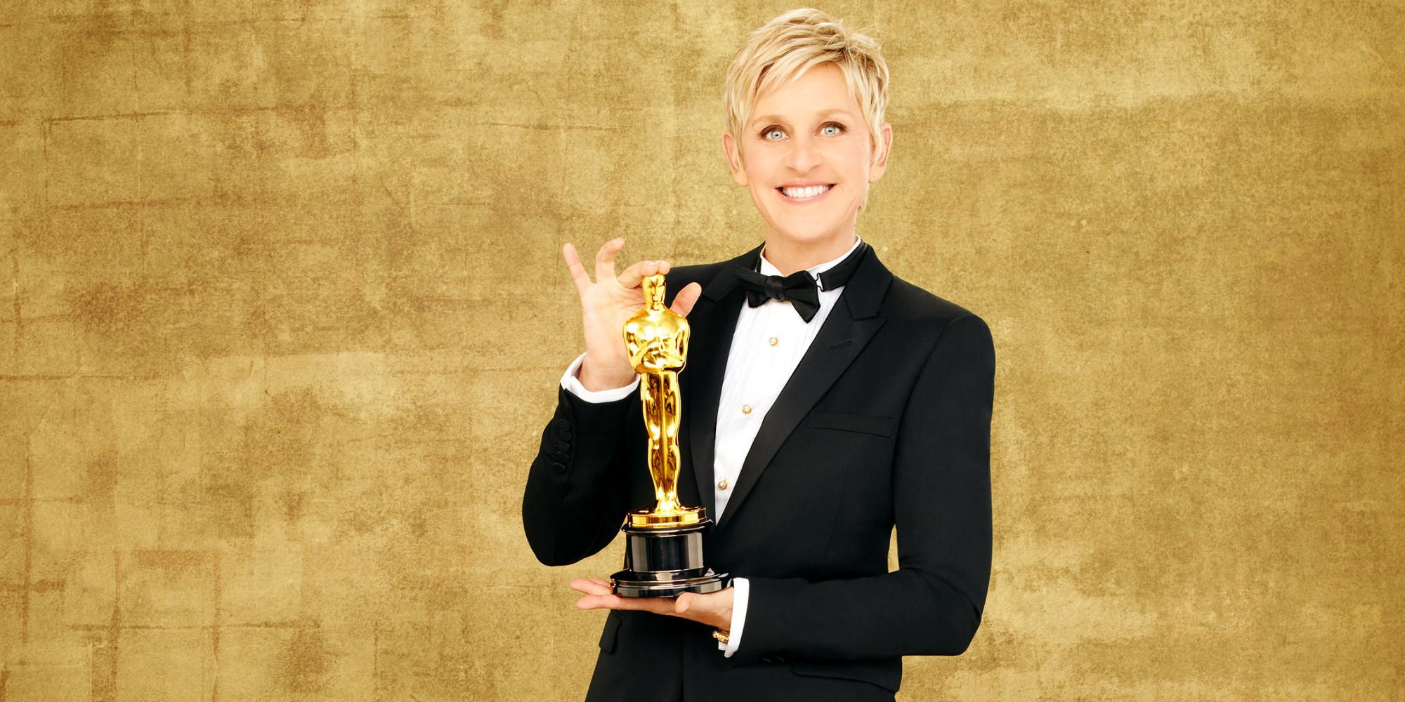 Ellen DeGeneres Oscars 2014