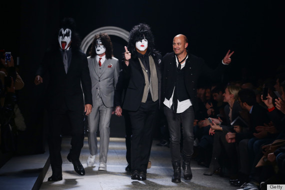 kiss fashion week
