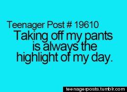 Teenager Posts Of The Week