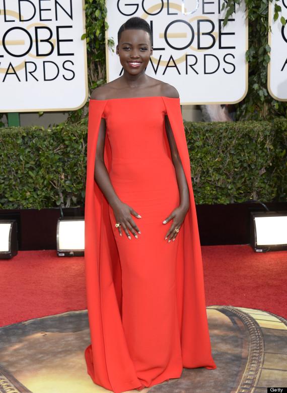 Lupita Nyong'o Golden Globes