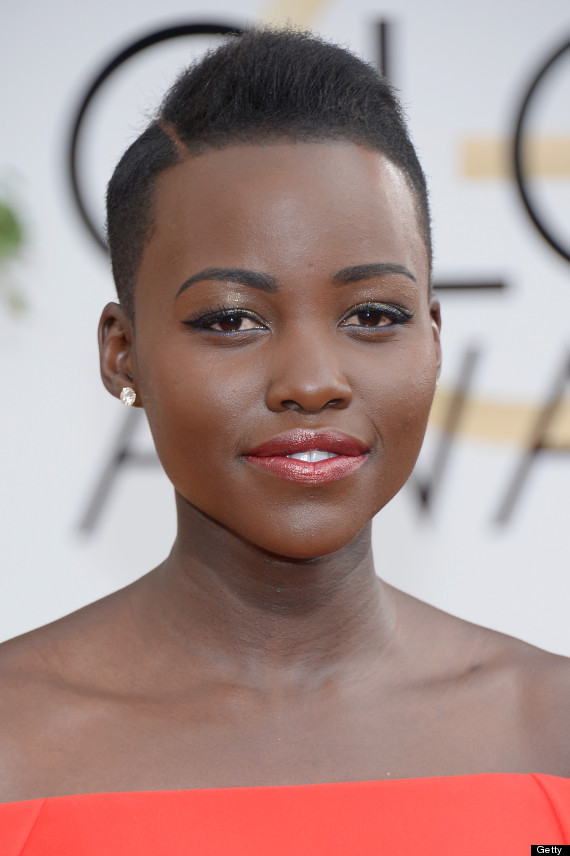 lupita nyongo golden globes dress