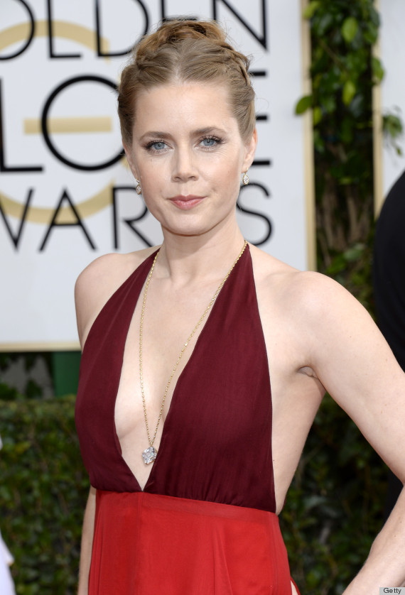 Amy Adams Golden Globes Dress 2014 Channels Her 'American Hustle ...