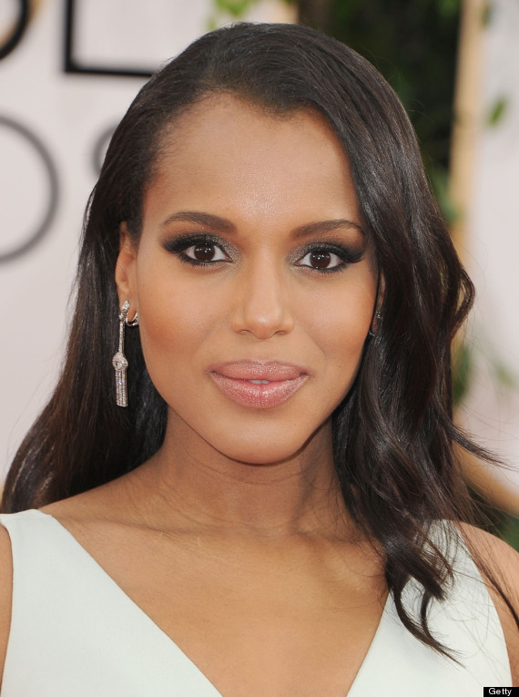 kerry washington golden globes dress