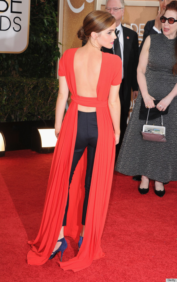 Emma Watson's Golden Globes Dress 2014