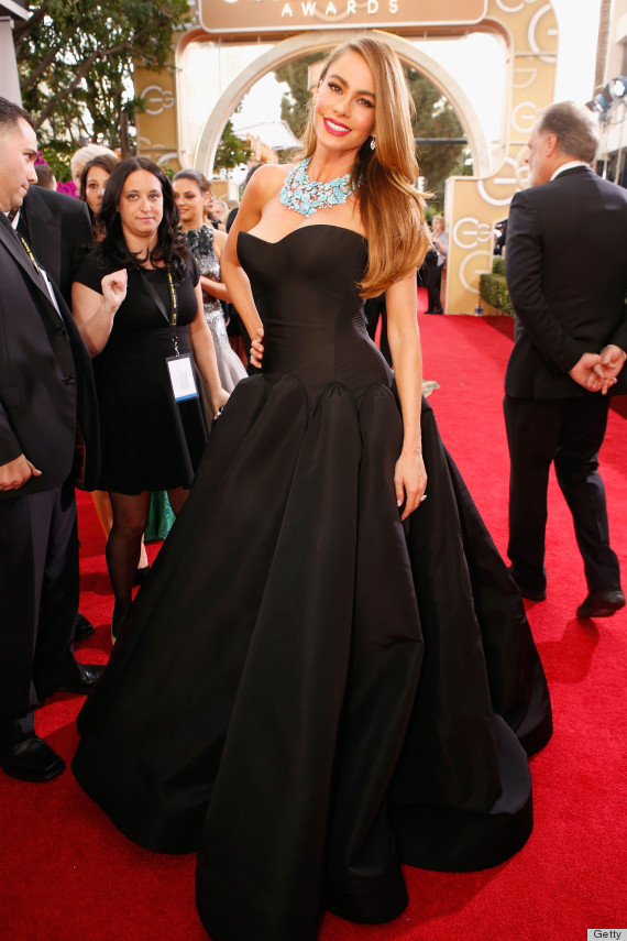 Sofia Vergara S Golden Globes Dress 2014 Proves She S A