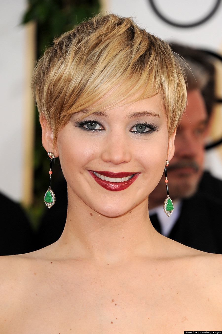 Jennifer Lawrence Makeup Tutorial: Jennifer Lawrence Golden Globes 2014: 'American Hustle