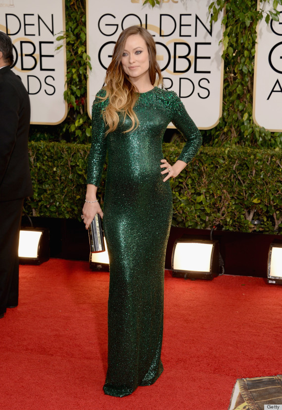 Olivia Wildes Golden Globes Dress 2014 Is How You Do