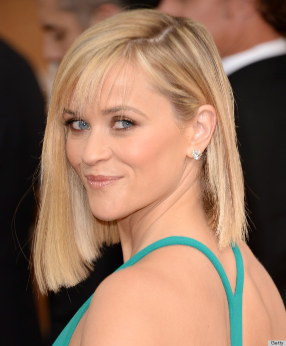 Reese Witherspoon S Golden Globes 2014 Hair Is A Risky