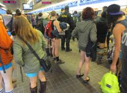 no pants skytrain