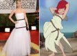 Jennifer Lawrence's Golden Globes Dress Inspires Unflattering (And Hilarious) Lookalikes