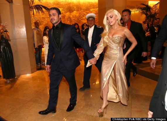 Lady Gaga And Hunky Bo...