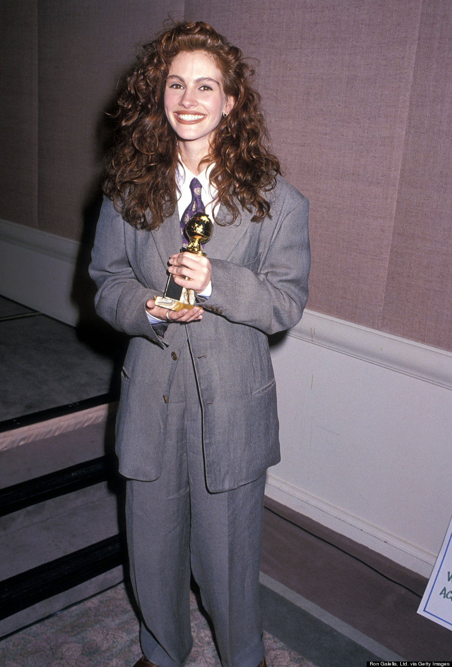 julia roberts golden globes 1990
